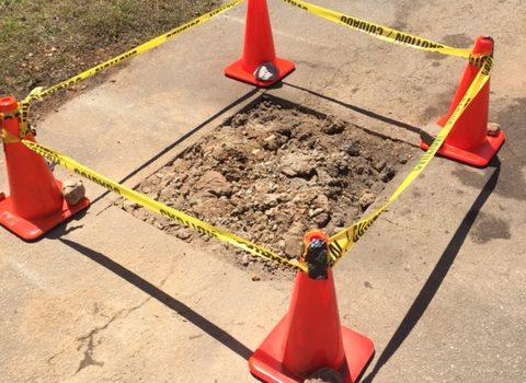Underground Pipe Repair