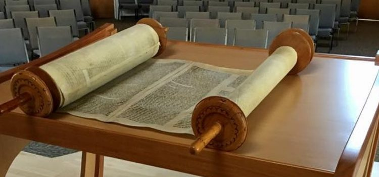 New Torah Table is in place!